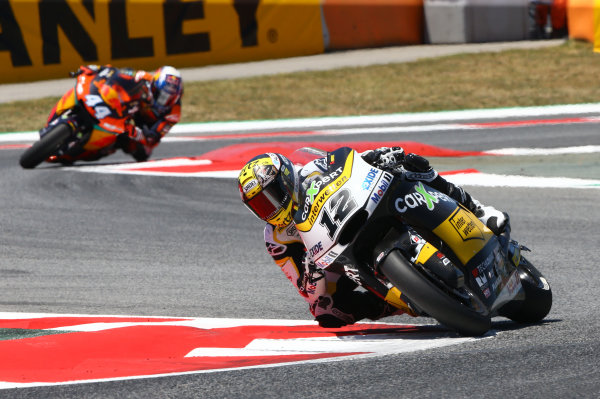 2017 Moto2 Championship - Round 7 Circuit de Catalunya, Barcelona, Spain Sunday 11 June 2017 Thomas Luthi, CarXpert Interwetten race World Copyright: Gold & Goose Photography/LAT Images ref: Digital Image 677493