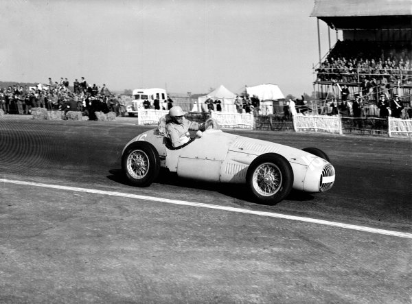 Silverstone, Great Britain. 9th May 1953.