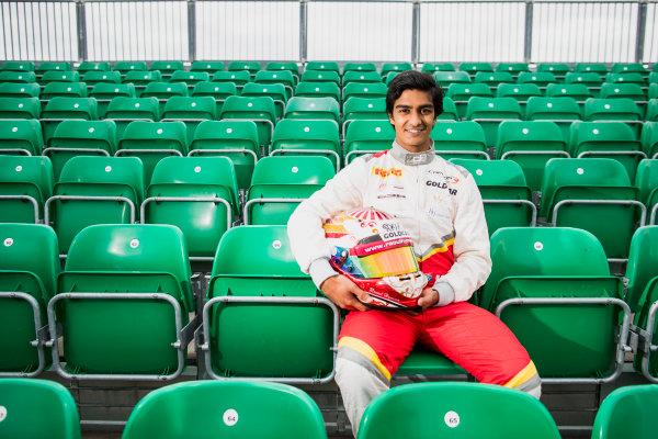 2017 GP3 Series Round 3.  Silverstone, Northamptonshire, UK. Thursday 13 July 2017. Raoul Hyman (RSA, Campos Racing).  Photo: Zak Mauger/GP3 Series Media Service. ref: Digital Image _56I6417