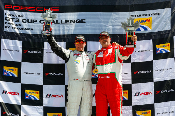 20-22 May 2016, Bowmanville, Ontario, Canada  GT3 Cup Canada, Race 2, Silver Podium ?2016, Jake Galstad LAT Photo USA