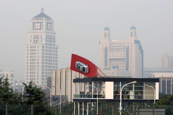 Audi branch office in Shanghai.DTM, Rd11, Shanghai, China, 26-28 November 2010.World Copyright: LAT Photographicref: dne1027no45