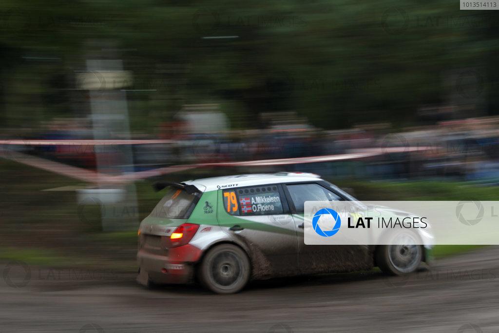 Round 11Rally de France 30/9-3/10Andreas Mikkelsen, Skoda SWRC, Action.Worldwide Copyright: McKlein/LAT