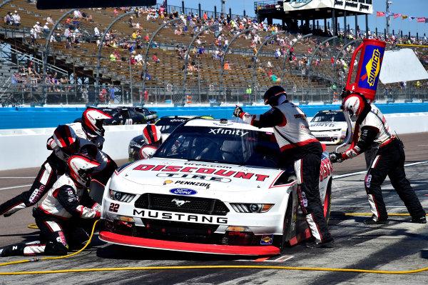 2017 NASCAR Xfinity Series DC Solar 200 Phoenix International Raceway, Avondale, AZ USA Saturday 18 March 2017 Ryan Blaney World Copyright: Rusty Jarrett/LAT Images ref: Digital Image 17PHX1rj_2333