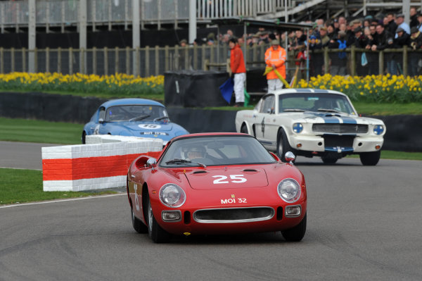 2017 75th Members Meeting Goodwood Estate, West Sussex,England 18th - 19th March 2017 Graham Hill Trophy Pearson Ferrari 250LM World Copyright : Jeff Bloxham/LAT Images Ref : Digital Image
