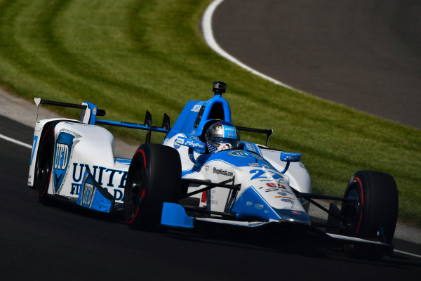 Verizon IndyCar Series Indianapolis 500 Practice Indianapolis Motor Speedway, Indianapolis, IN USA Monday 15 May 2017 Marco Andretti, Andretti Autosport with Yarrow Honda World Copyright: Scott R LePage LAT Images