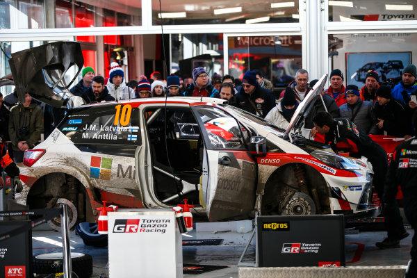 2017 FIA World Rally Championship, Round 01, Rally Monte Carlo, January 18-22, 2017, Toyota, service, Worldwide Copyright: McKlein/LAT
