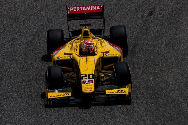 2017 FIA Formula 2 Round 1. Bahrain International Circuit, Sakhir, Bahrain.  Friday 14 April 2017. Norman Nato (FRA, Pertamina Arden)  Photo: Zak Mauger/FIA Formula 2. ref: Digital Image _56I9467