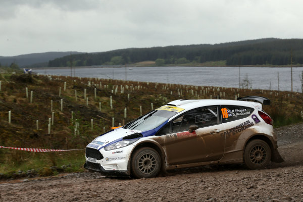 2017 Prestone MSA British Rally Championship,  Scottish Rally, Dumfries. 19th - 20th May 2017. Donnie Macdonald / Neil Shanks Ford Fiesta. World Copyright: JEP / LAT Images.