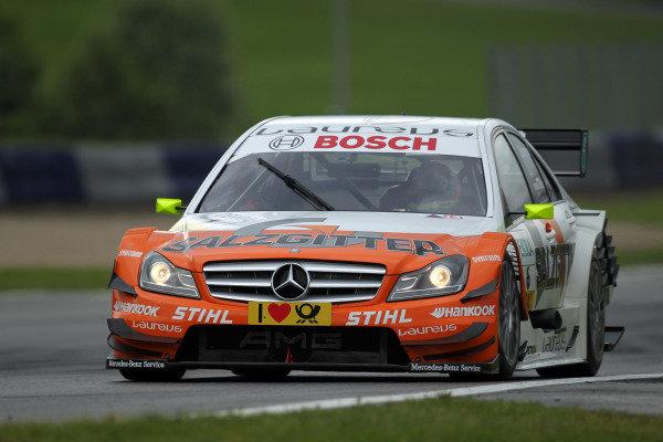 Ralf Schumacher (GER), Salzgitter AMG Mercedes.DTM, Rd3, Red Bull Ring, Spielberg, Austria. 3-5 June 2011.