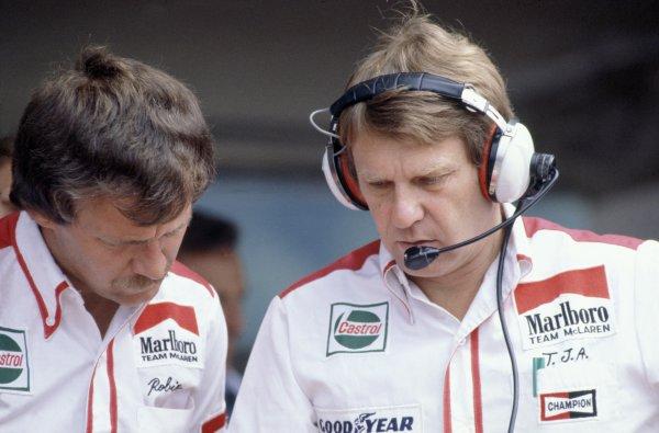 1980 Austrian Grand Prix.Osterreichring, Zeltweg, Austria. 15-17 August 1980.Tyler Alexander (McLaren). Portrait.World Copyright: LAT PhotographicRef: 35mm transparency 80AUT13