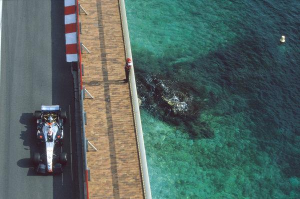 2005 Monaco Grand PrixMonte Carlo, Monaco. 19th - 22nd May Kimi Raikkonen, McLaren Mercedes MP4-20. Action. World Copyright: Lorenzo Bellanca/LAT Photographic ref: 35mm Image 05Monaco30