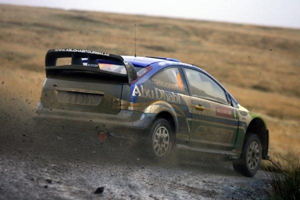 2007 World Rally Championship,Wales Rally GB, 30th November - 2nd December 2007,Mikko Hirvonen, Ford, ActionWorld Copyright: McKlein/LAT Photographic