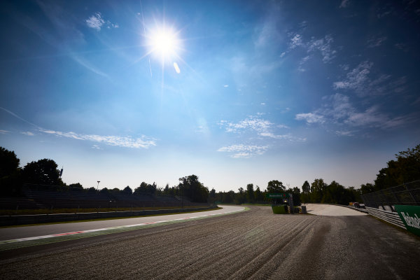 Autodromo Nazionale di Monza, Italy  Thursday 1 September 2016. The Parabolica at Monza. World Copyright: Steve Etherington/LAT Photographic ref: Digital Image SNE15052