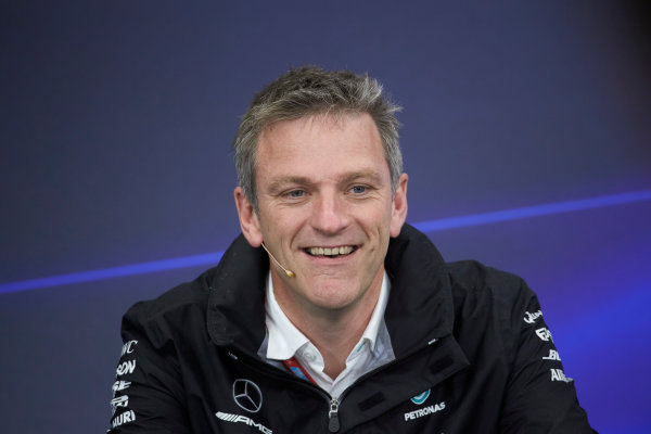 Suzuka Circuit, Japan. Friday 6 October 2017. James Allison, Technical Director, Mercedes AMG, in the press conference. World Copyright: Steve Etherington/LAT Images  ref: Digital Image SNE14761