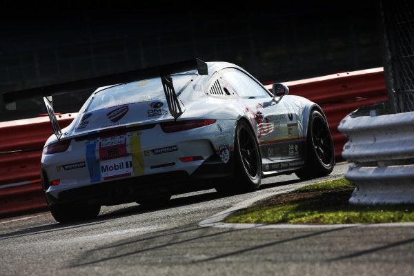 2017 Porsche Carrera Cup, Silverstone, Northants, UK. 16th-17th September 2017 Dino Zamparelli (GBR) JTR Porsche Carrera Cup World copyright. JEP/LAT Images