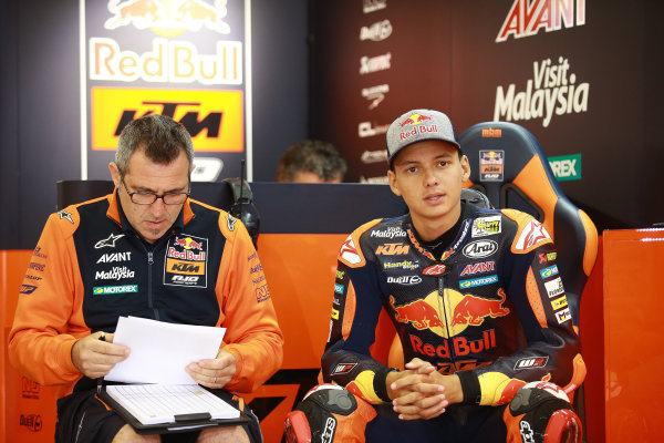 2017 Moto3 Championship - Round 11 Spielberg, Austria Friday 11 August 2017 Bo Bendsneyder, Red Bull KTM Ajo World Copyright: Gold and Goose / LAT Images ref: Digital Image 685551