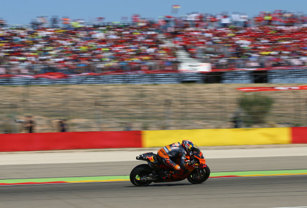 2017 MotoGP Championship - Round 14 Aragon, Spain. Saturday 1 January 2000 Bradley Smith, Red Bull KTM Factory Racing World Copyright: Gold and Goose / LAT Images ref: Digital Image 14174