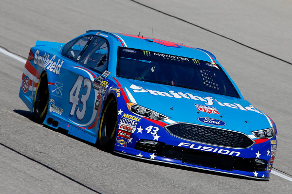 Monster Energy NASCAR Cup Series Tales of the Turtles 400 Chicagoland Speedway, Joliet, IL USA Friday 15 September 2017 Aric Almirola, Richard Petty Motorsports, Smithfield Ford Fusion World Copyright: Brett Moist LAT Images
