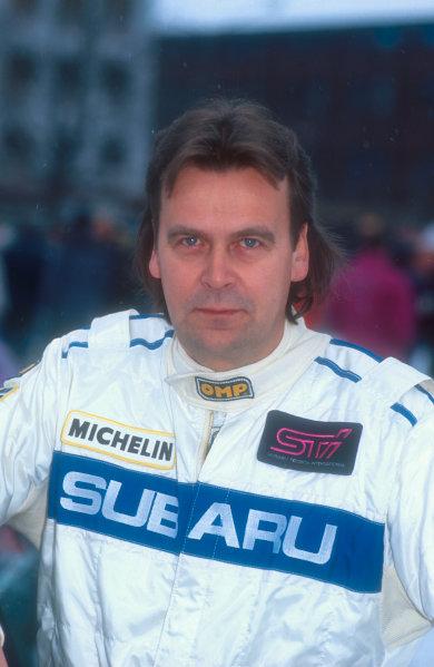 1991 World Rally Championship.Markku Alen (Subaru).World Copyright - LAT Photographic