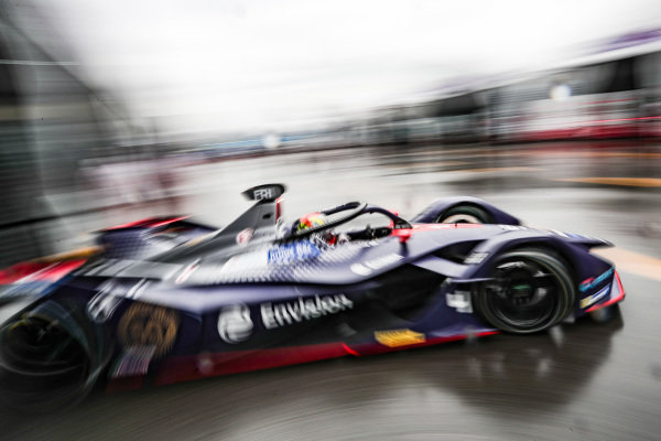 Robin Frijns (NLD), Envision Virgin Racing, Audi e-tron FE05 exits the garage