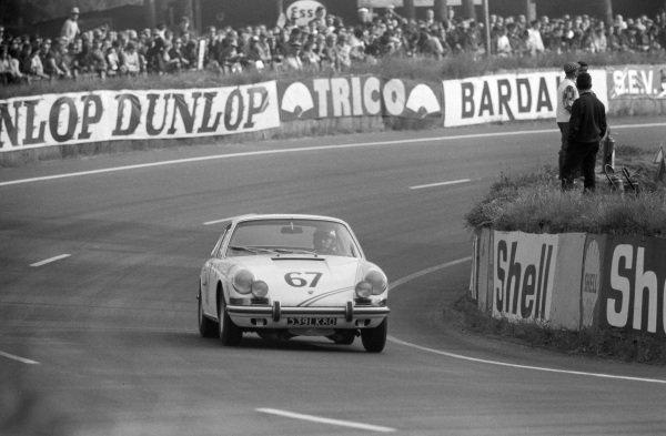 Pierre Boutin / Patrice Sanson, P Boutin, Porsche 911S.