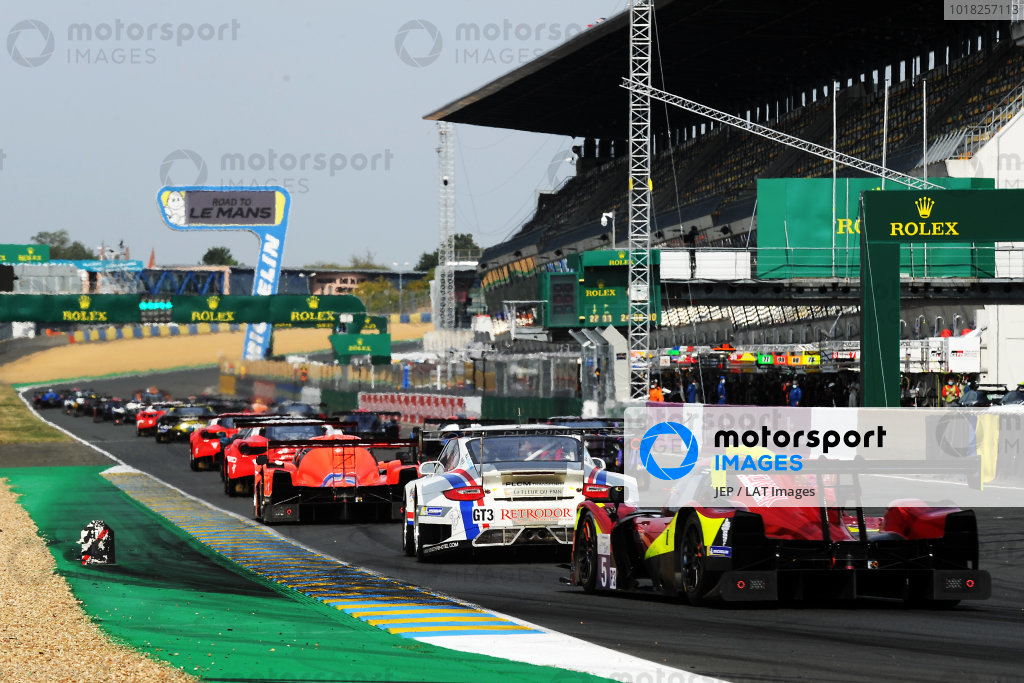 Road to Le Mans Race 1 Start
