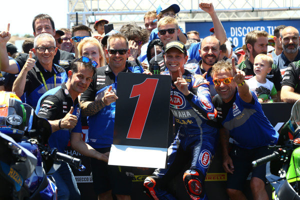 Winner Michael van der Mark, Pata Yamaha
