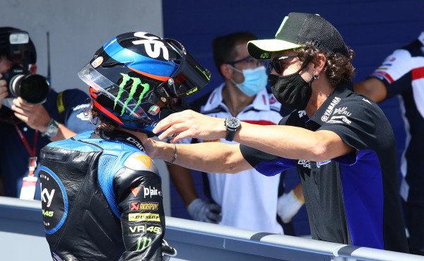 Marco Bezzecchi, Sky Racing Team VR46, Valentino Rossi.