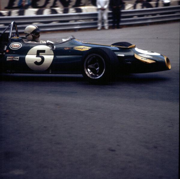 1970 Monaco Grand Prix.Monte Carlo, Monaco.7-10 May 1970.Jack Brabham (Brabham BT33 Ford) 2nd position.Ref: 3/4037R.World Copyright - LAT Photographic