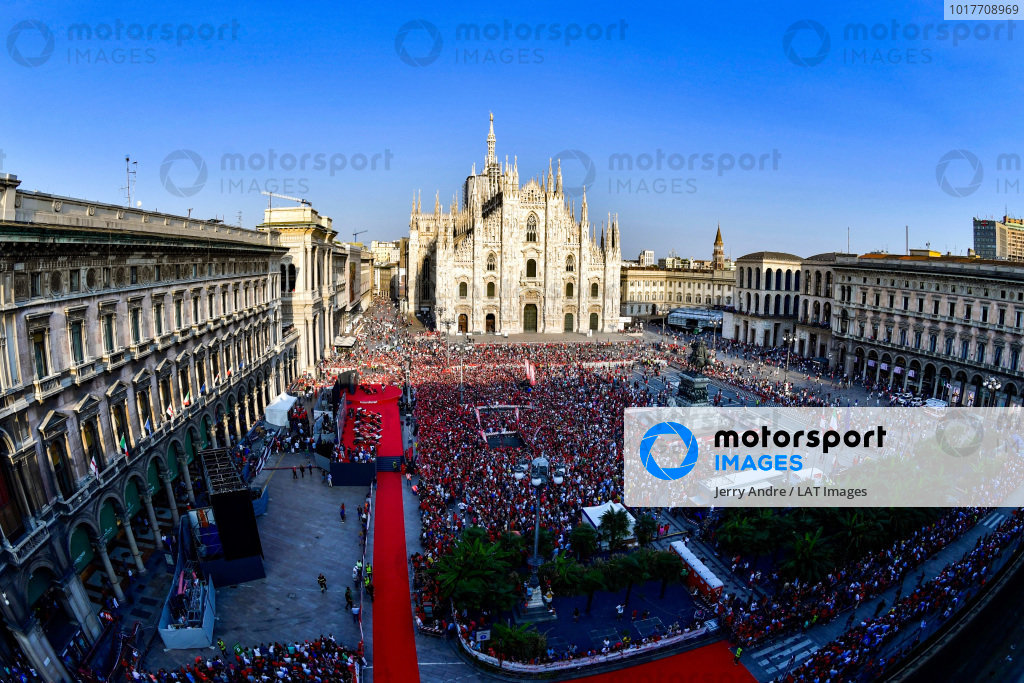 Ferrari Milan 90 years celebration