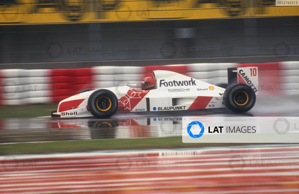 1991 San Marino Grand Prix.