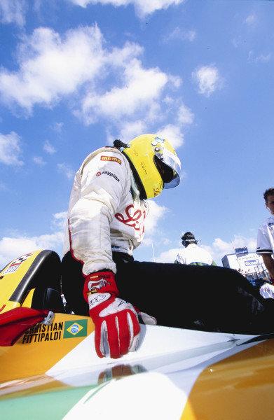 2002 Rockingham CART, Rockingham Speedway, England14 September, 2002Christian Fittipaldi. 53 MB file-2002, Gavin Lawrence, EnglandLAT Photographic