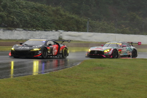GT300 Winner Shinichi Takagi & Nirei Fukuzumi, Autobacs Racing Team Aguri Honda NSX GT3