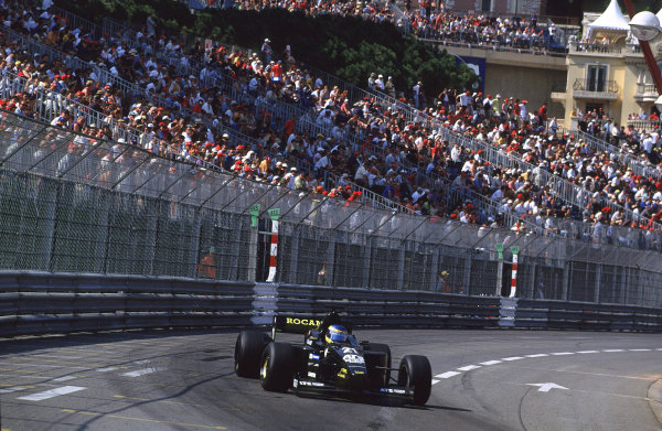 2001 F3000 ChampionshipMonte Carlo, Monaco. 26th May 2001Stephane Sarrazin (Prost Junior) - action.World Copyright: Clive Rose / LAT Photographicref: 35mm Image A11
