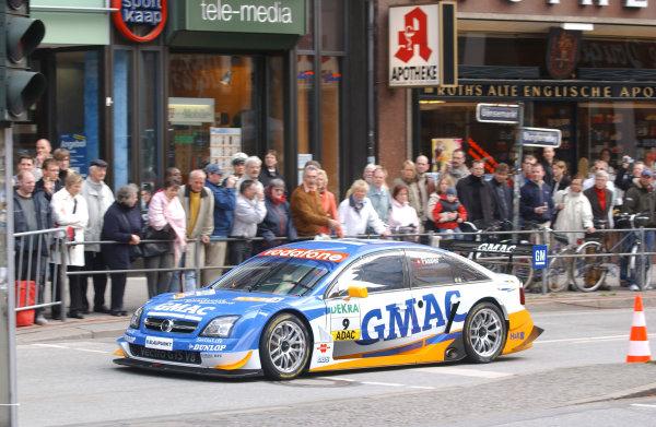 2005 DTM Media DayHamburg, Germany. 5th April 2005Marcel Fassler (Opel Vecrta GTS V8), demonstartion run.World Copyright: Andre Irlmeier/LAT PhotographicRef: Digital Image Only