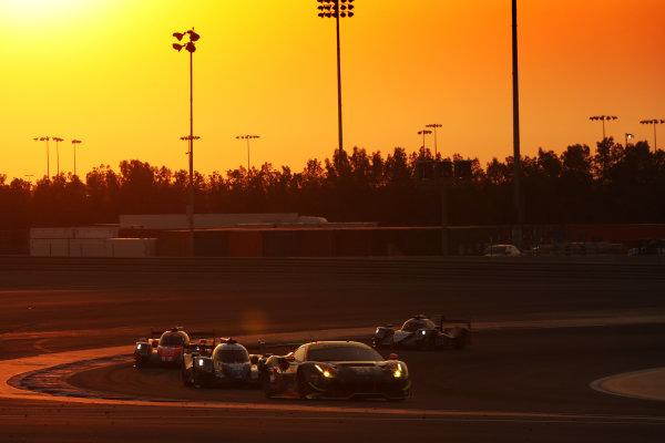 2017 FIA World Endurance Championship, Bahrain International Circuit, Bahrain. 16th-18th November 2017, #61 Clearwater Racing Ferrari 488 GTE: Weng Sun Mok, Keita Sawa, Matt Griffin  World Copyright. JEP/LAT Images