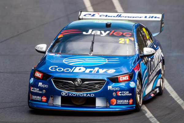 2018 Supercars Championship Adelaide 500, Adelaide, South Australia, Australia Friday 2 March 2018  #21 Tim Blanchard (Aust) Cooldrive Racing  World Copyright: Dirk Klynsmith / LAT Images ref: Digital Image 2018VASC01-03348