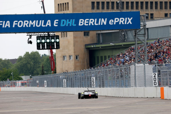 2014/2015 FIA Formula E Championship. Berlin ePrix, Berlin Tempelhof Airport, Germany. Saturday 23 May 2015 Charles Pic (FRA)/China Racing - Spark-Renault SRT_01E. Photo: Andrew Ferraro/LAT/Formula E ref: Digital Image _FER0847
