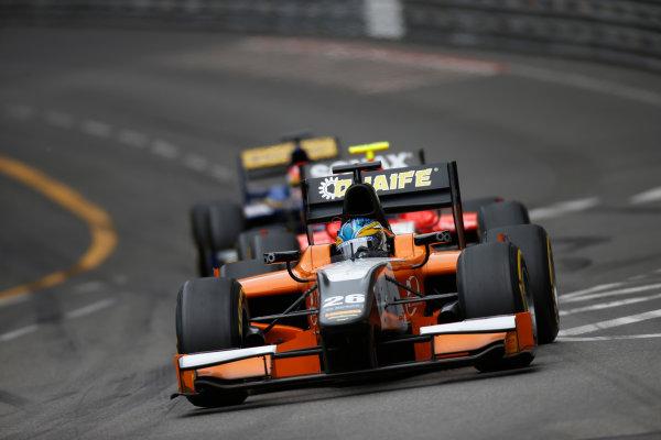 2013 GP2 Series. Round 4.  Monte Carlo, Monaco. 54th May 2013. Saturday Race. Adrian Quaife-Hobbs (GBR, MP Motorsport). Action.  World Copyright: Glenn Dunbar/GP2 Series Media Service. Ref: _89P2724