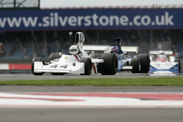 2007 Silverstone ClassicSilverstone, England. 28th & 29th July 2007.James Hunt Trophy for Formula One cars / GPMWorldwide Copyright: Colin McMaster/LATRef:_P6B0754 JPG.