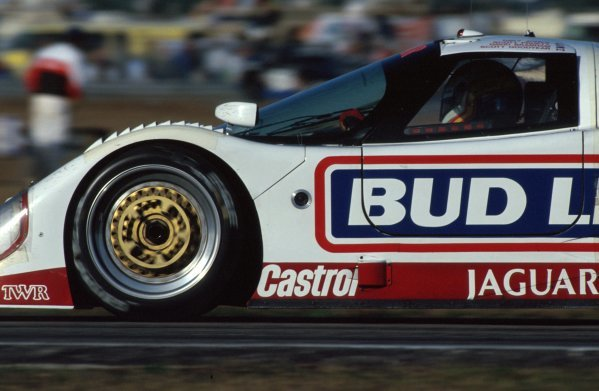 Davy Jones (USA) TWR Jaguar XJR-12D, 2nd place.