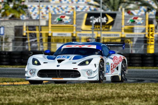 19-20 November, 2013, Daytona Beach, Florida The #33 Riley Motorsports Viper Exchange GTS-R driven by Ben Keating, Jeroen Bleekemolen, and Marc Goossens. @2013 Richard Dole LAT Photo USA