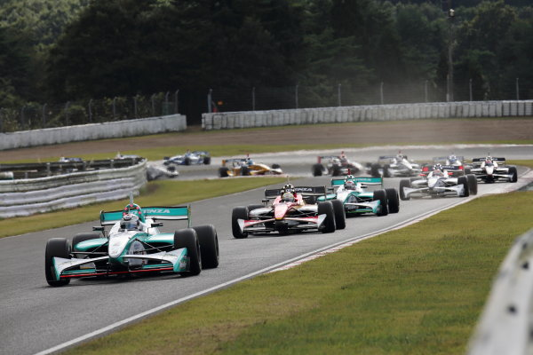 Sportsland Sugo, Japan. 28th - 29th September 2013. Rd 5. 2nd position Andre Lotterer ( #2 PETRONAS TEAM TOM'S ) action World Copyright: Yasushi Ishihara/LAT Photographic. Ref: 2013SF_Rd6_013