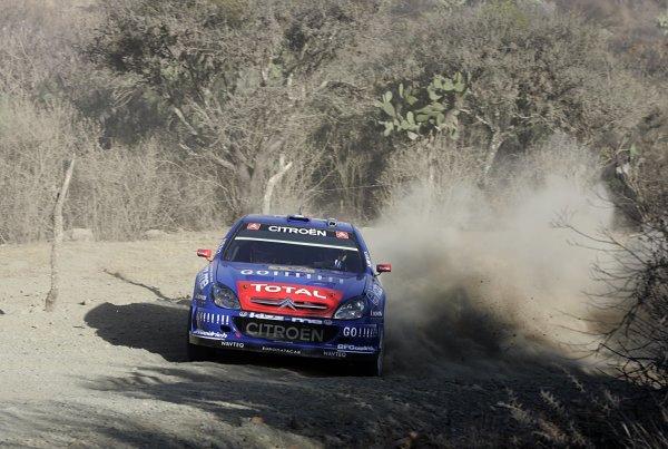 2006 FIA World Rally Champs. Round Three; Rally Mexico.; 2nd - 5th March 2006.Sebastien Loeb; Citroen; action.World Copyright: LAT/McKleinref: WRCMEX06-10 JPG