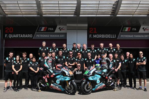 Petronas Yamaha SRT Team.