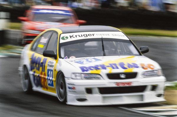 Robb Gravett, Brookes Motorsport, Honda Accord.