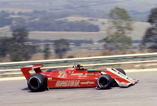 1979 South African Grand Prix.Kyalami, South Africa.1-3 March 1979.Derek Daly (Ensign N179 Ford).Ref-79 SA 17.World Copyright - LAT Photographic