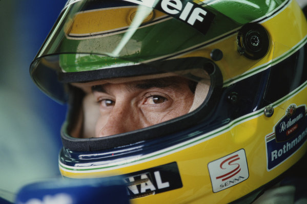 Ayrton Senna, Williams.