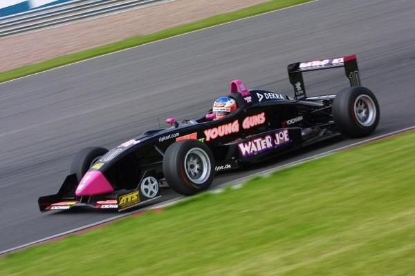 Gary Paffett (GBR) Team Rosberg, took victory. Rd2, Sachsenring Germany. 2 June 2002.