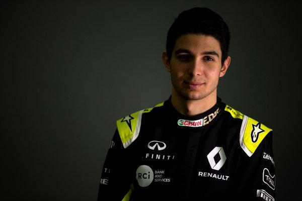 Esteban Ocon (FRA) Renault F1 Team. Copyright: James Moy/XPB/Renault F1